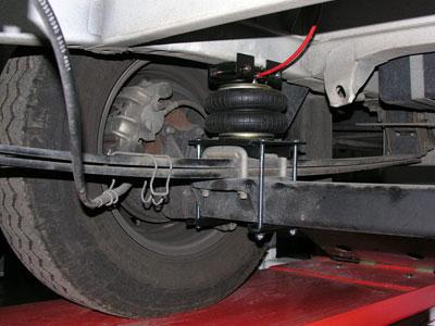 Suspension hidraulica para autocaravanas
